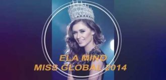 Miss Global 2014 Ela Mino Farewell Highlight