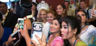 MISS GLOBAL 2015 Royal Court in CAMBODIA