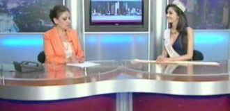 Miss Global 2013 First Runner-up Emilia Zoryan Shant TV Interview